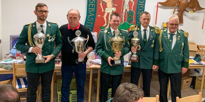 BSG Vereinsmeister 2019: Sebastian Hartendorf holt sich den Titel
